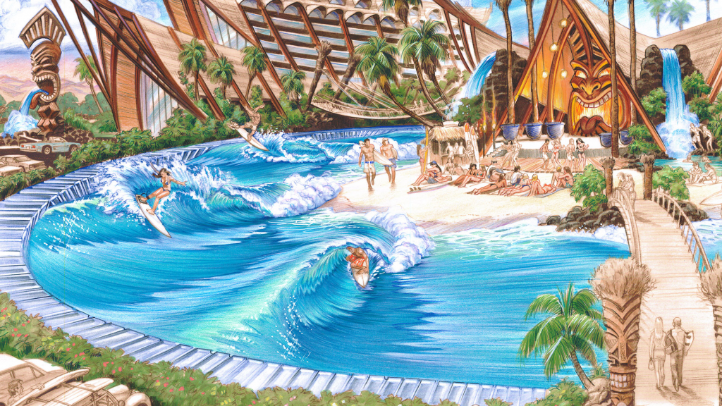 Ring of Fire wave pool