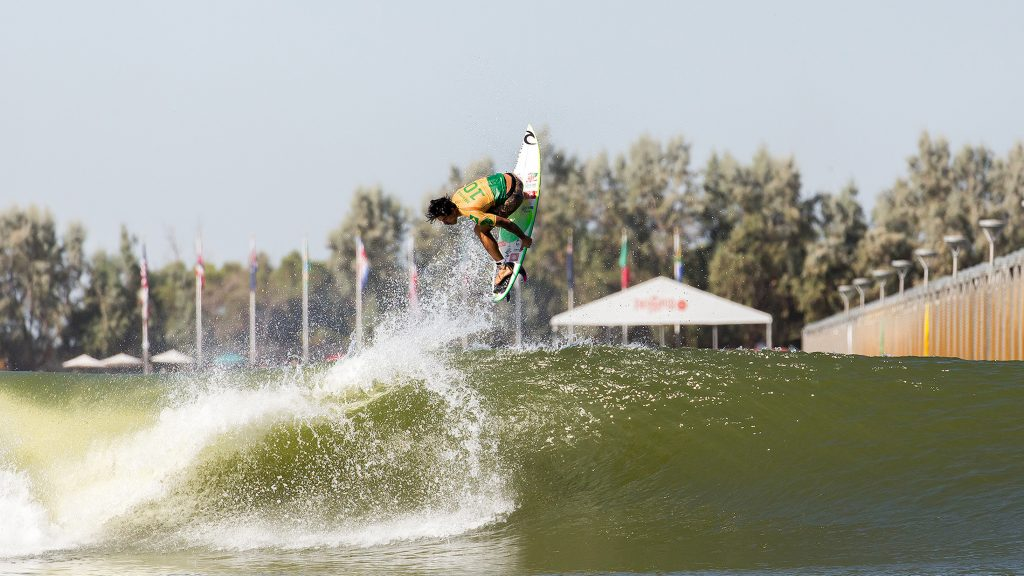 Gabriel Medina at the Surf Ranch