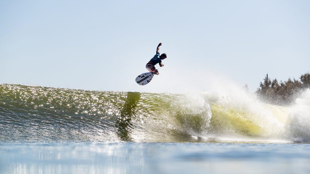 julian wilson at the surf ranch