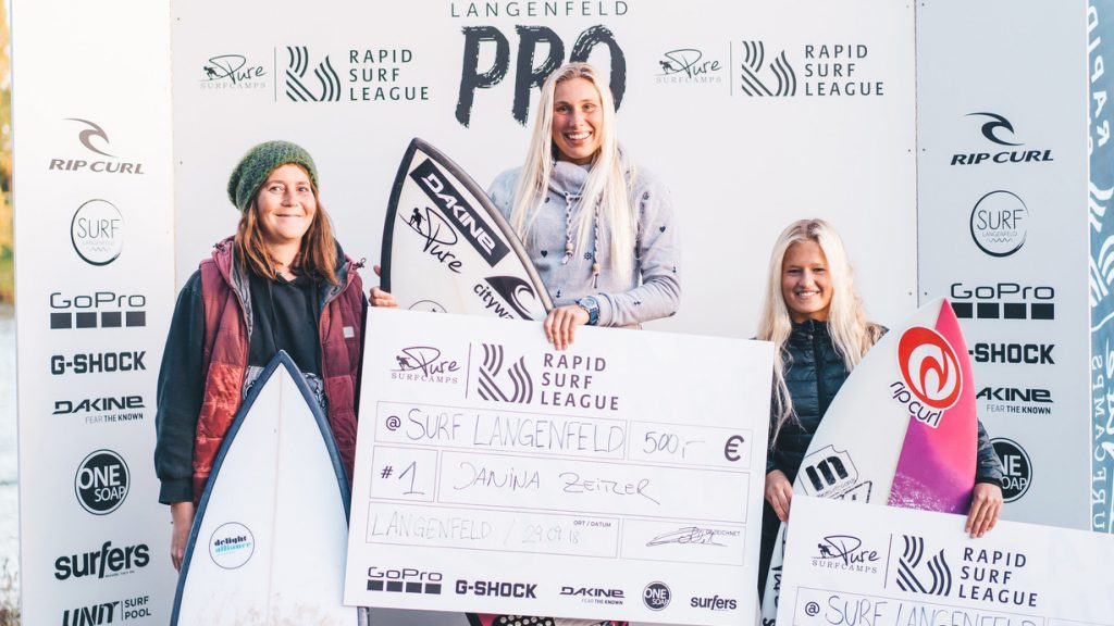 Rapid Surf League Podium