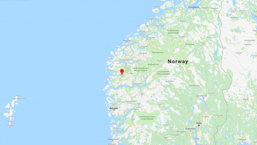 Fjordane, Norway site for new wave pool
