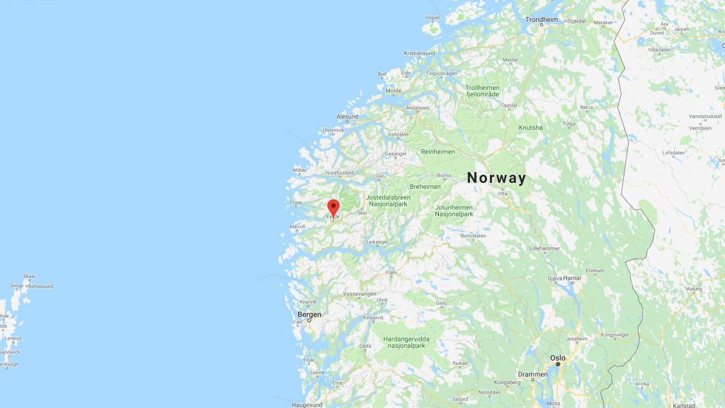 Jolster Norway wave pool location
