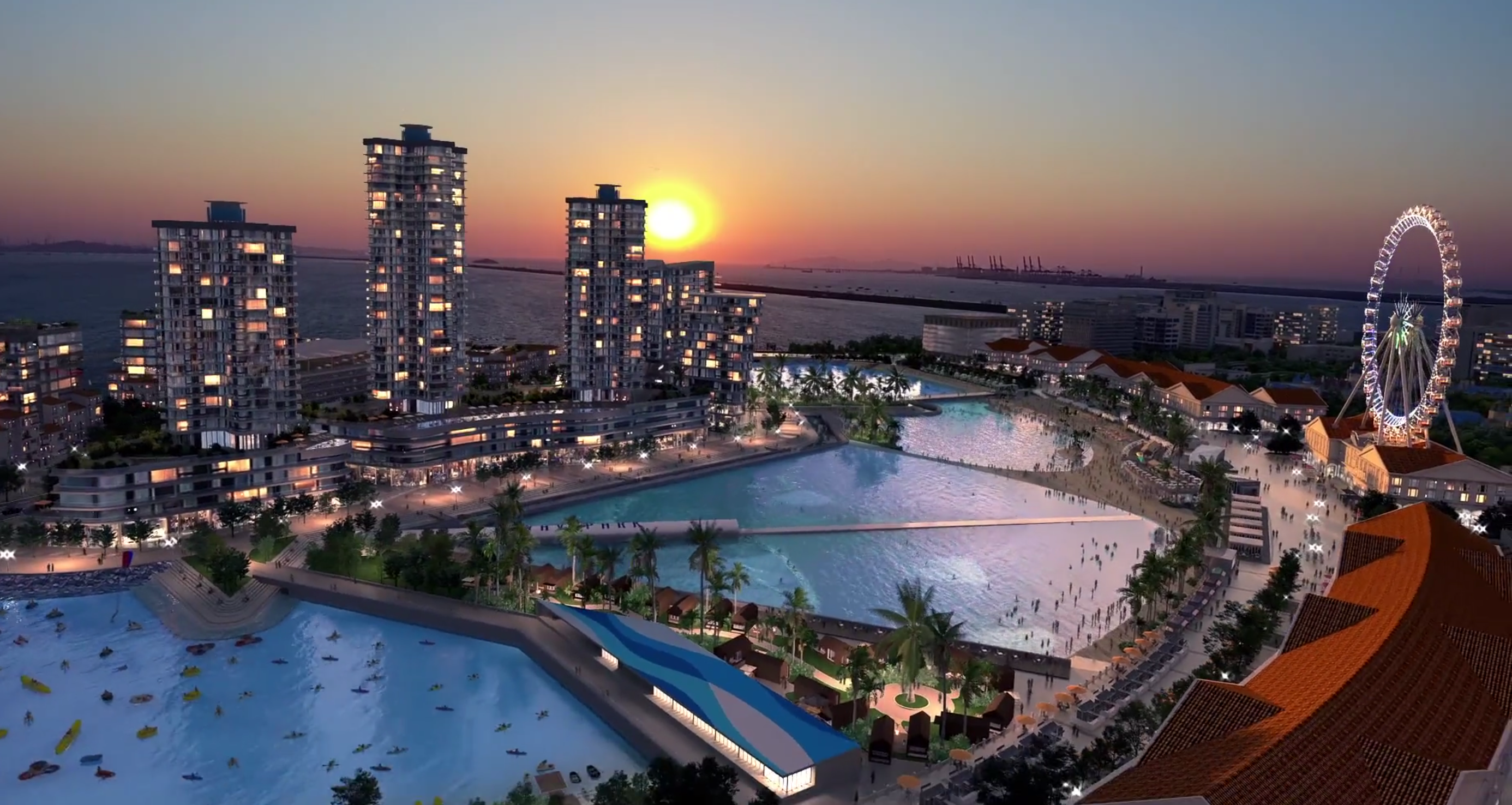 Turtle Island wave pool development