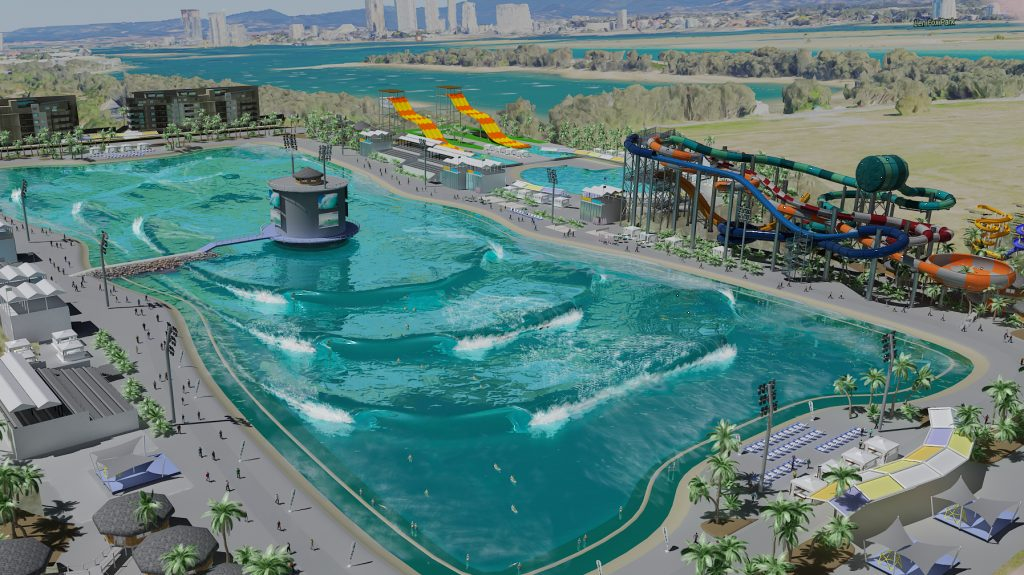 planned wave pool by Surf Lakes