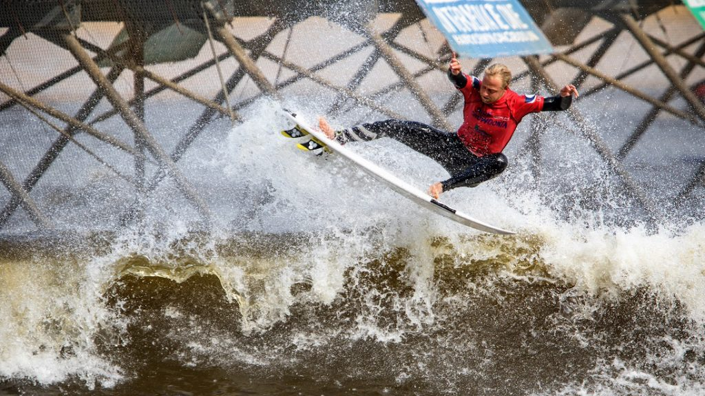 wave pool contest surf snowdonia