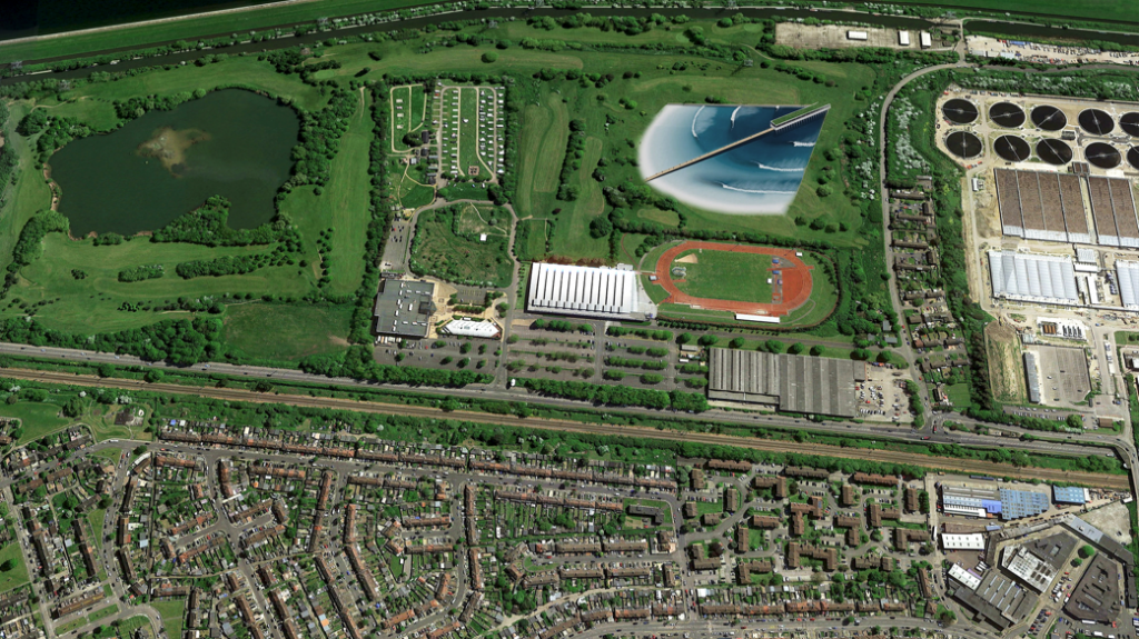 proposed london wave pool