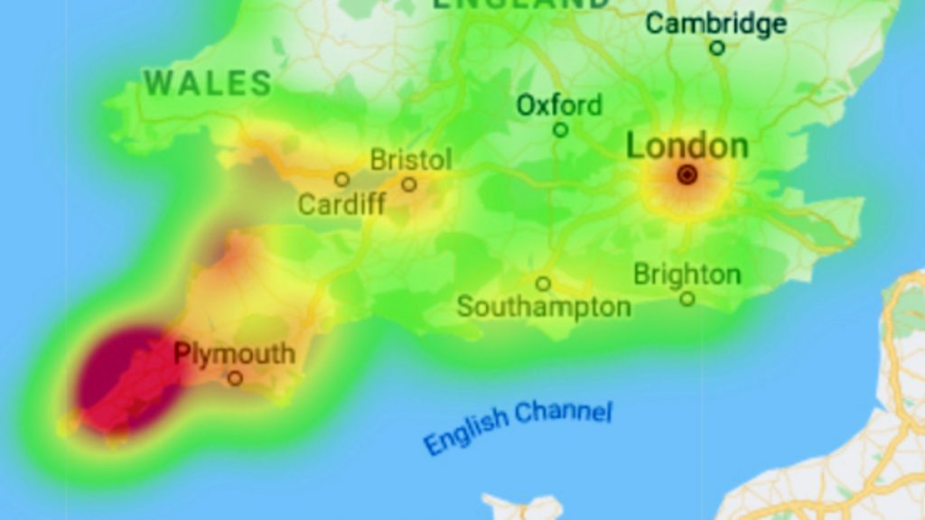 UK Surfer Map