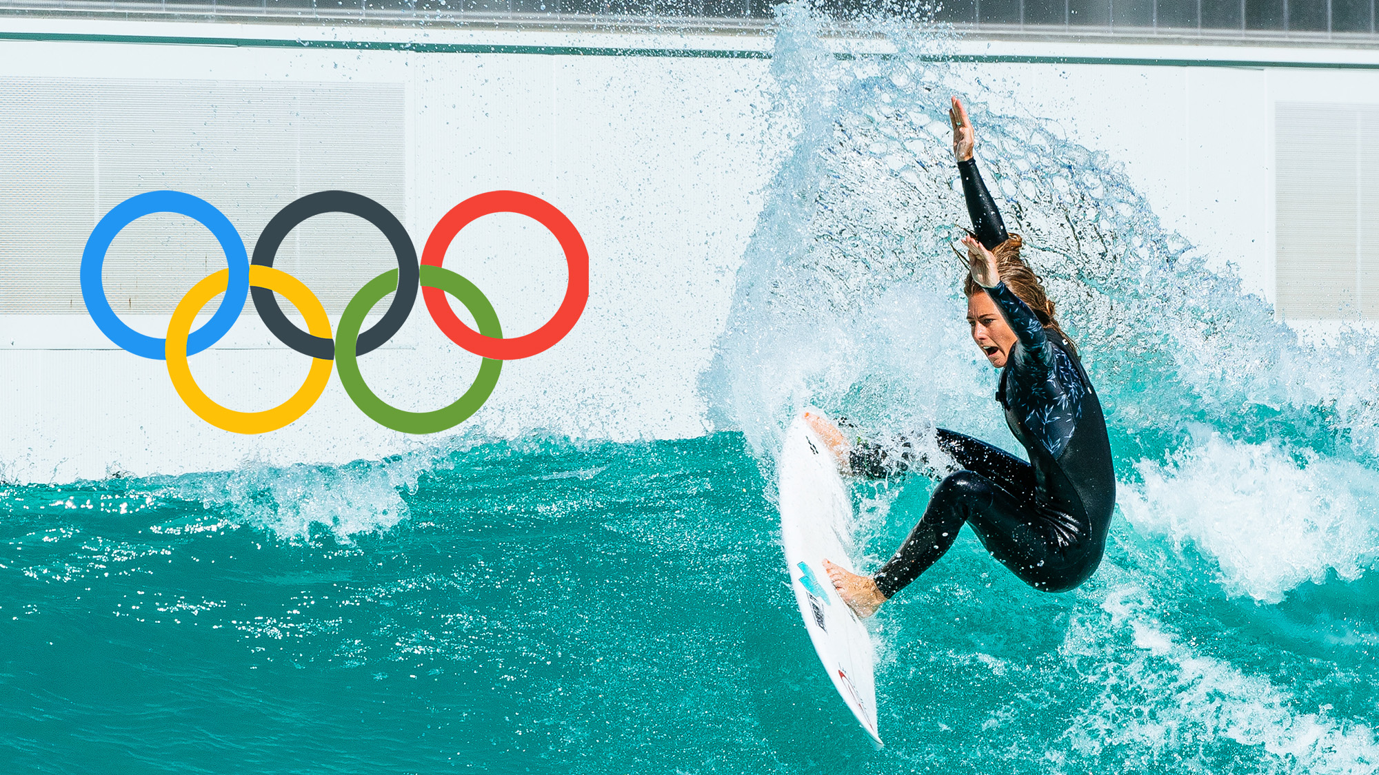 Olympic surfing: Nikki van Dijk wavegarden cove