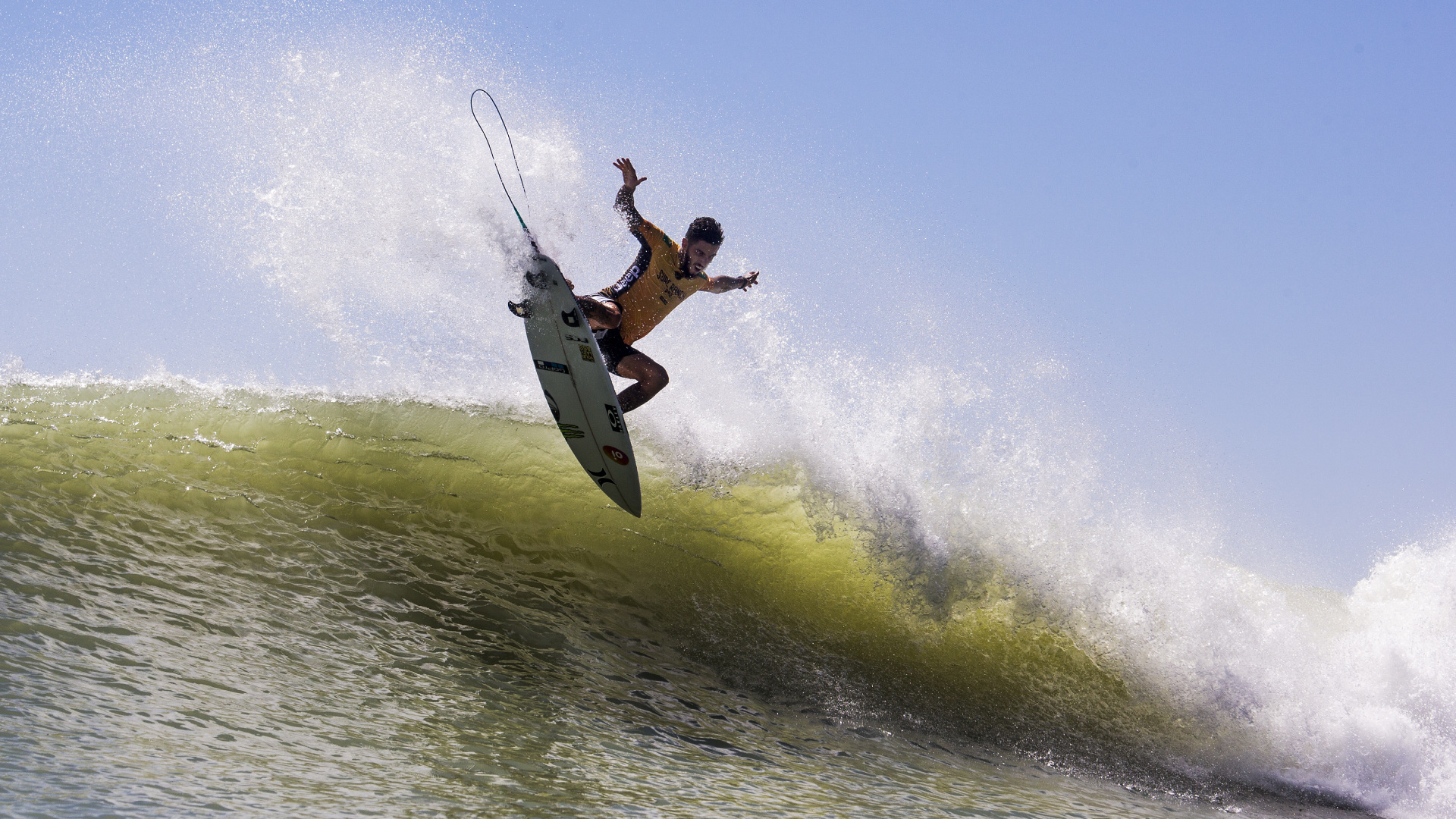 filipe toledo at the Surf Ranch Pro