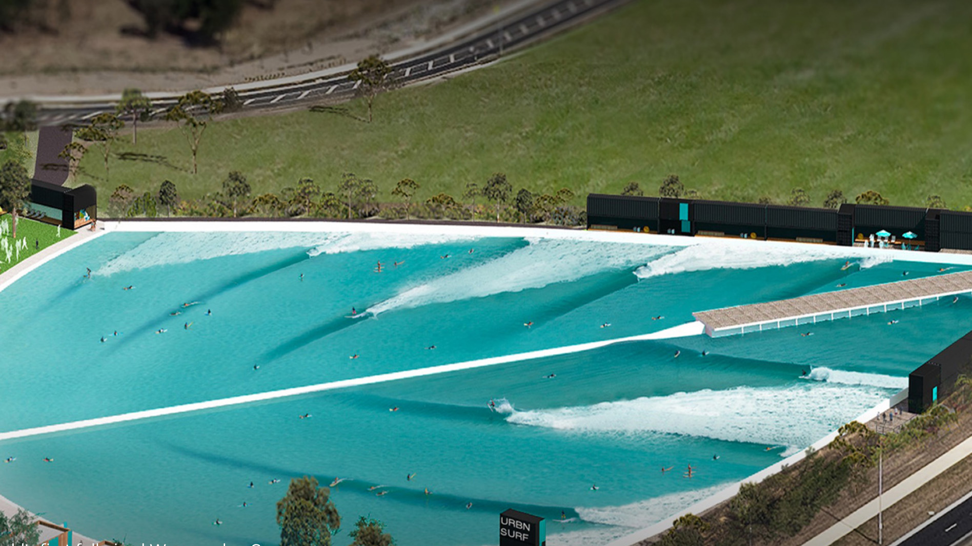 Melbourne Cove wave pool