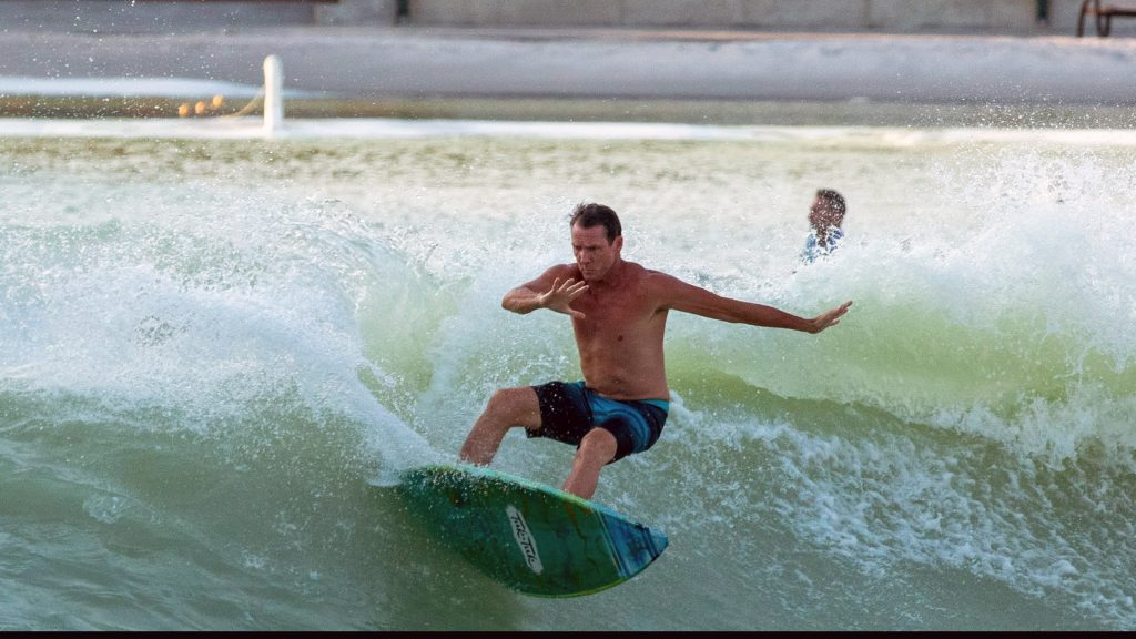 Steven Ward at BSR Surf Resort
