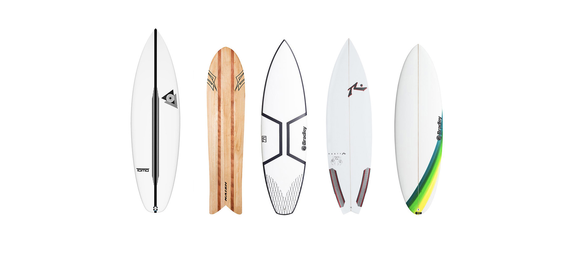 Surfboards for wave pools