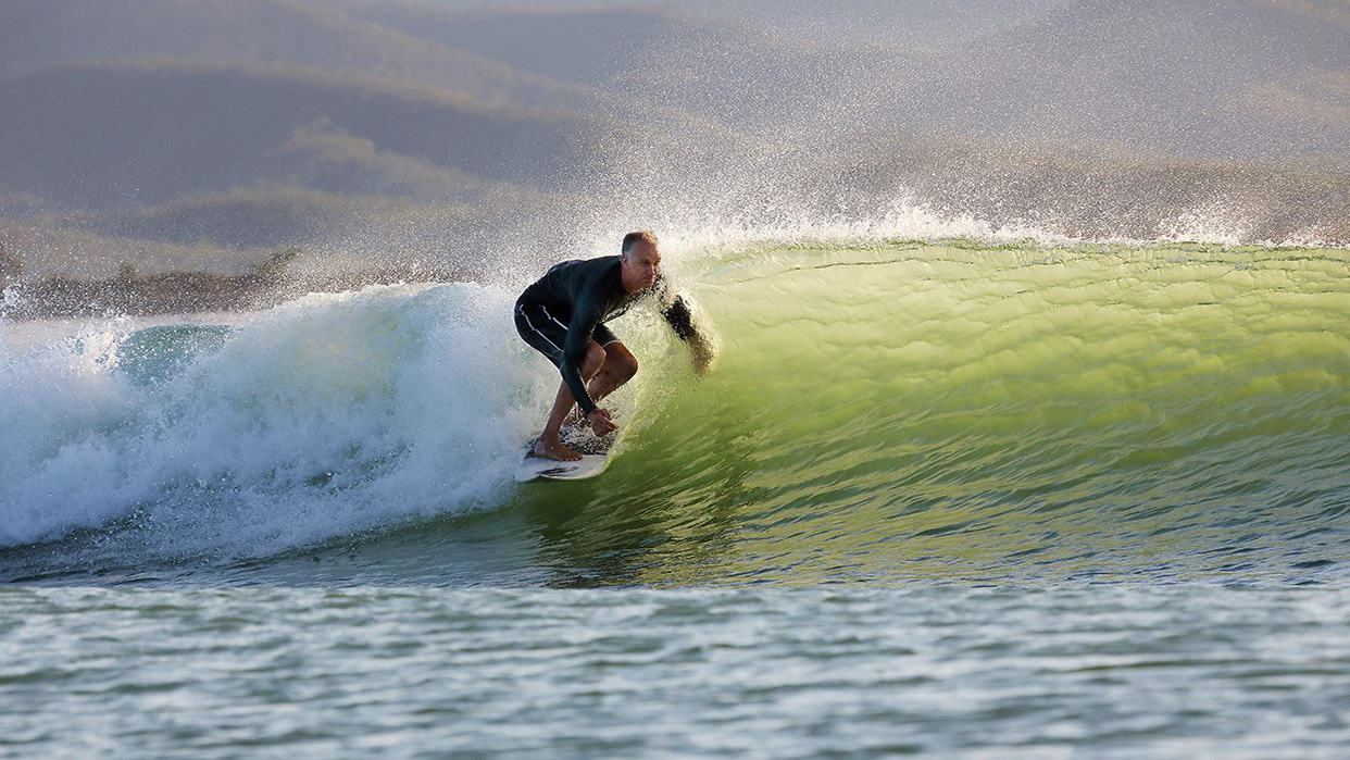 Barton Lynch at Surf Lakes