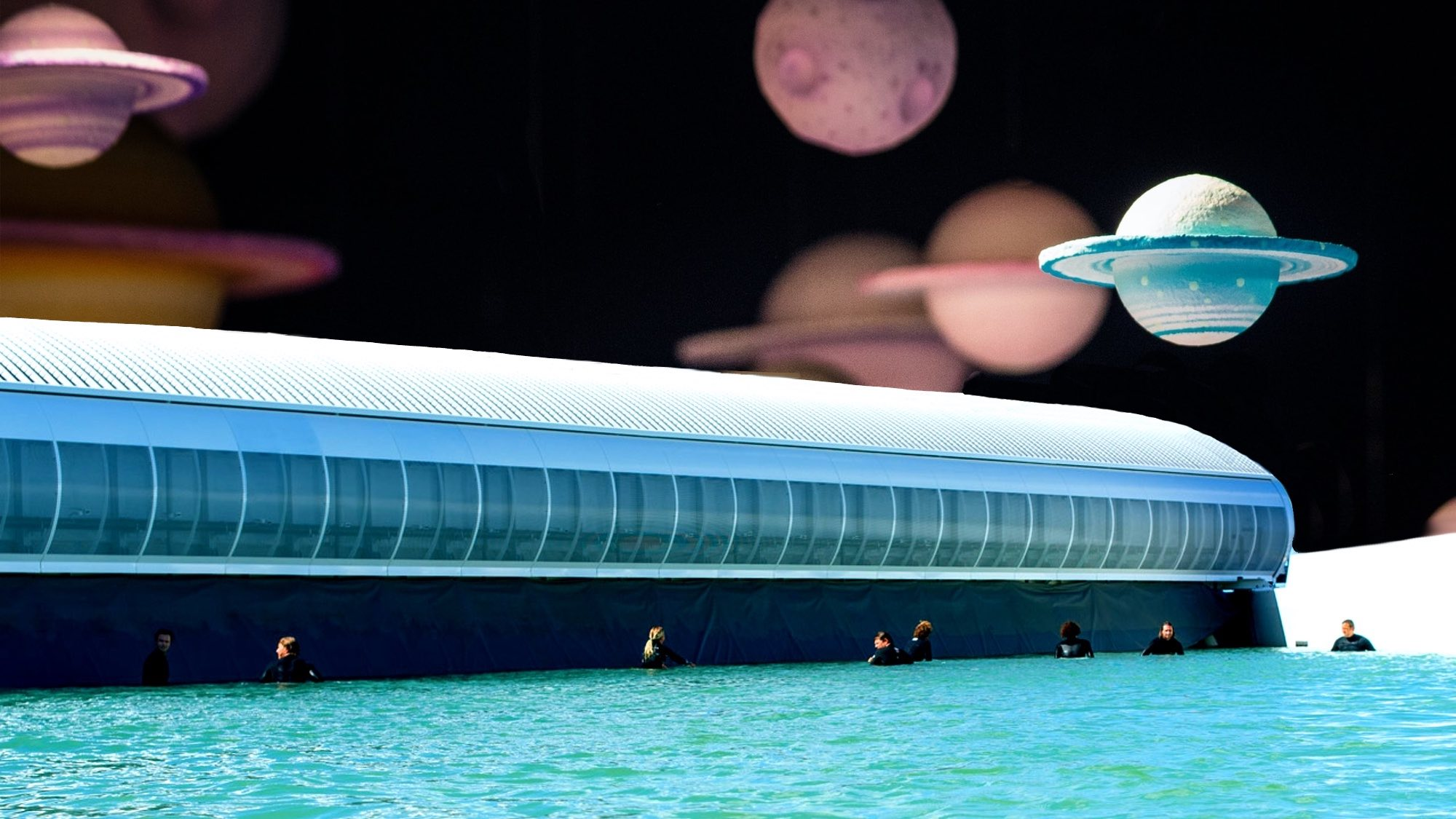 wavegarden Cove lineup with planets