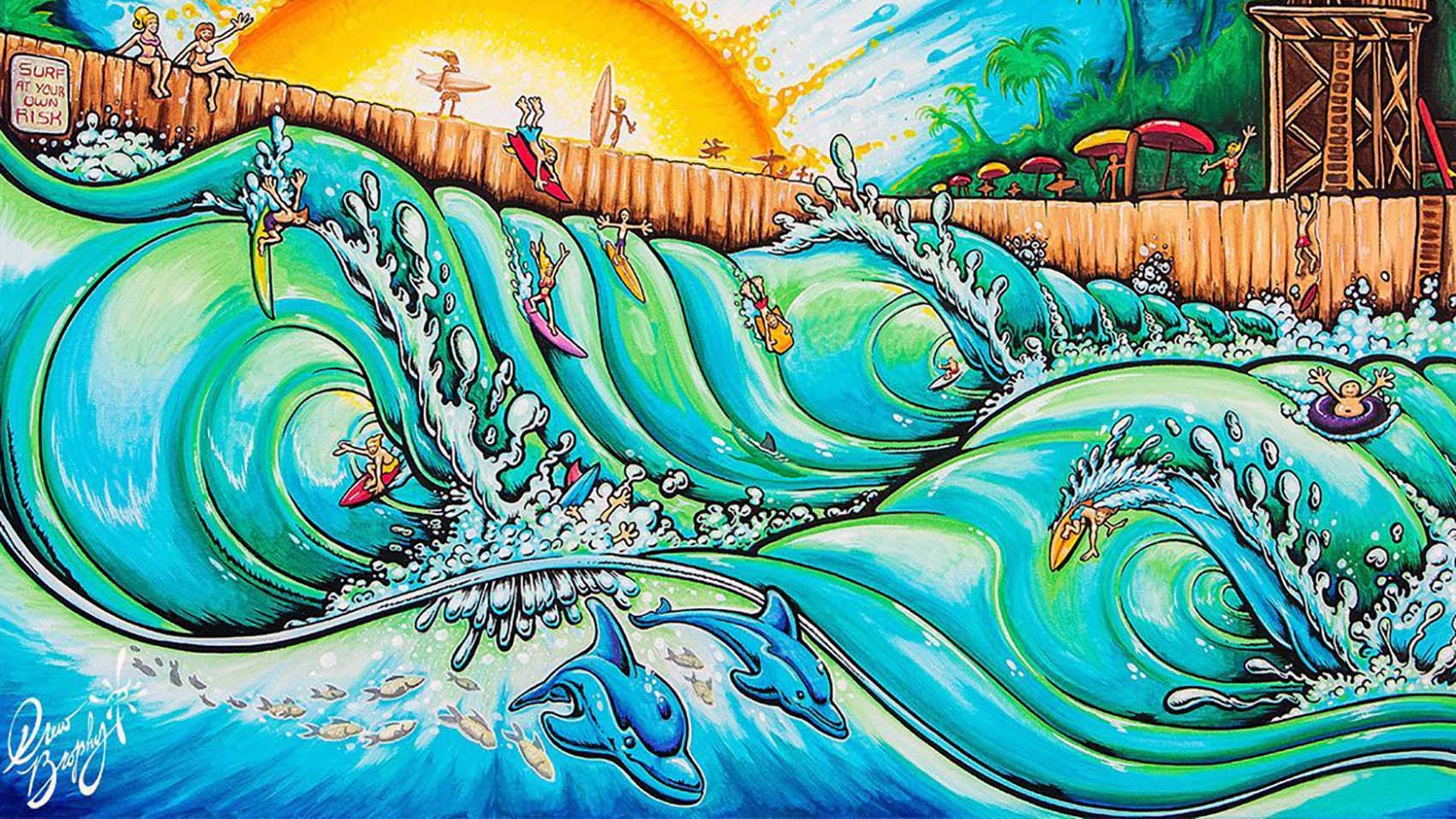 drew brophy wave pool