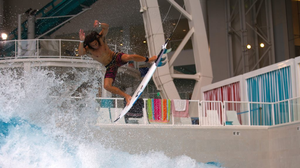 rob kelly at new jersey wave pool