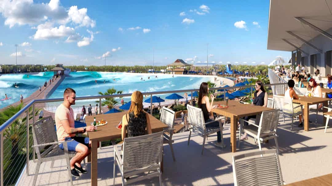 Surfworks planned wave pool for Florida