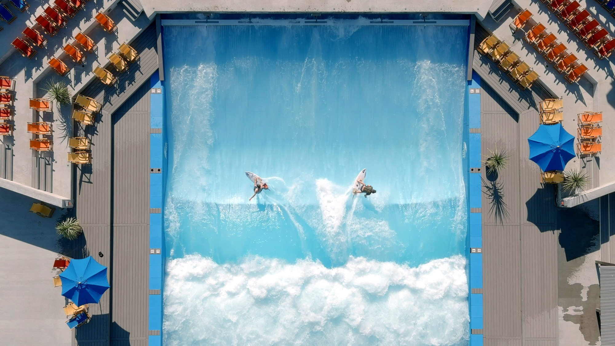 how do standing wave pools work?