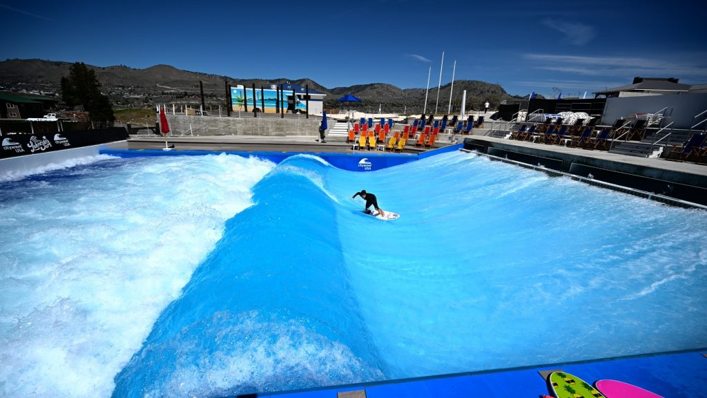 how does the citywave standing wave pool work