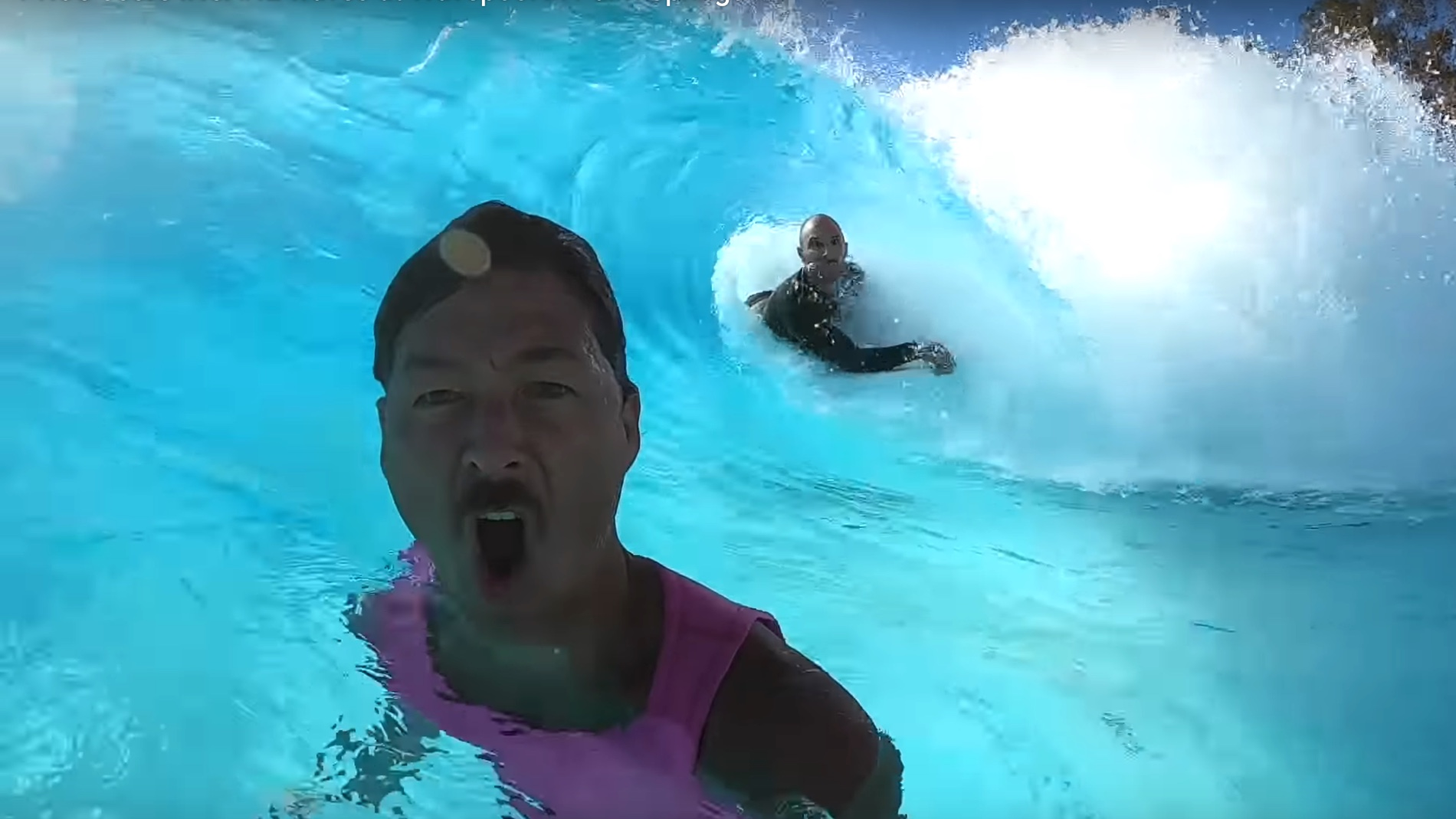 kalani robb in palm springs wave pool