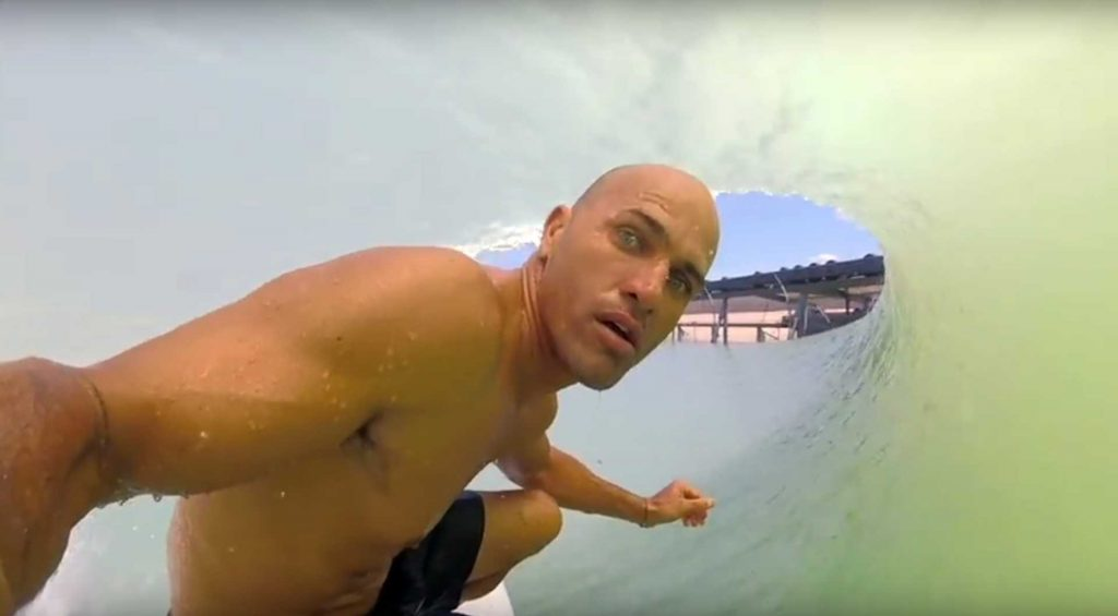 Kelly Slater at the Surf Ranch