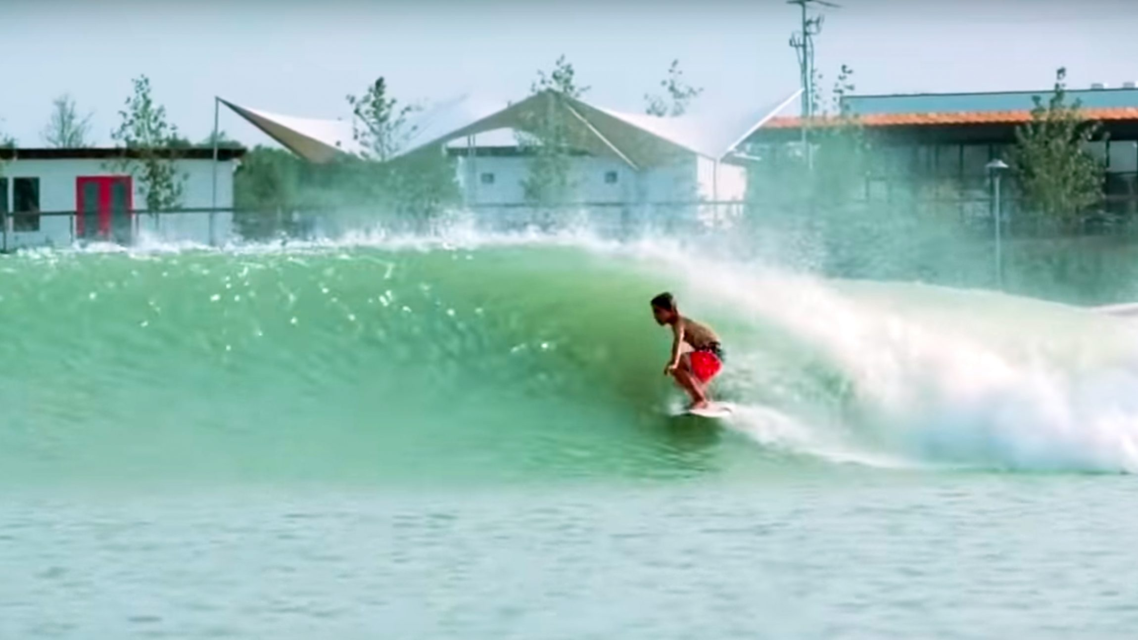 Grom at NLand Wave Pool