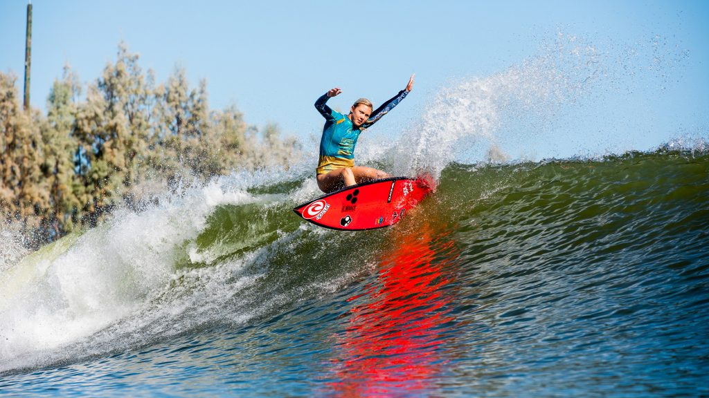 Rising Tides event pushed up-and-coming women's surfers through the trials.