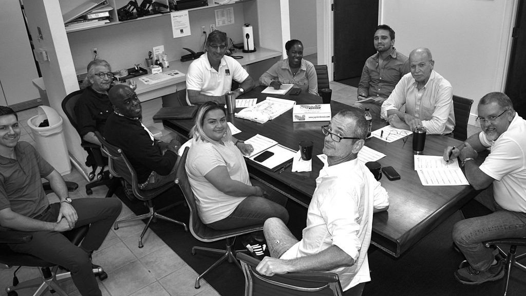 The crew at Recreational Design and Construction