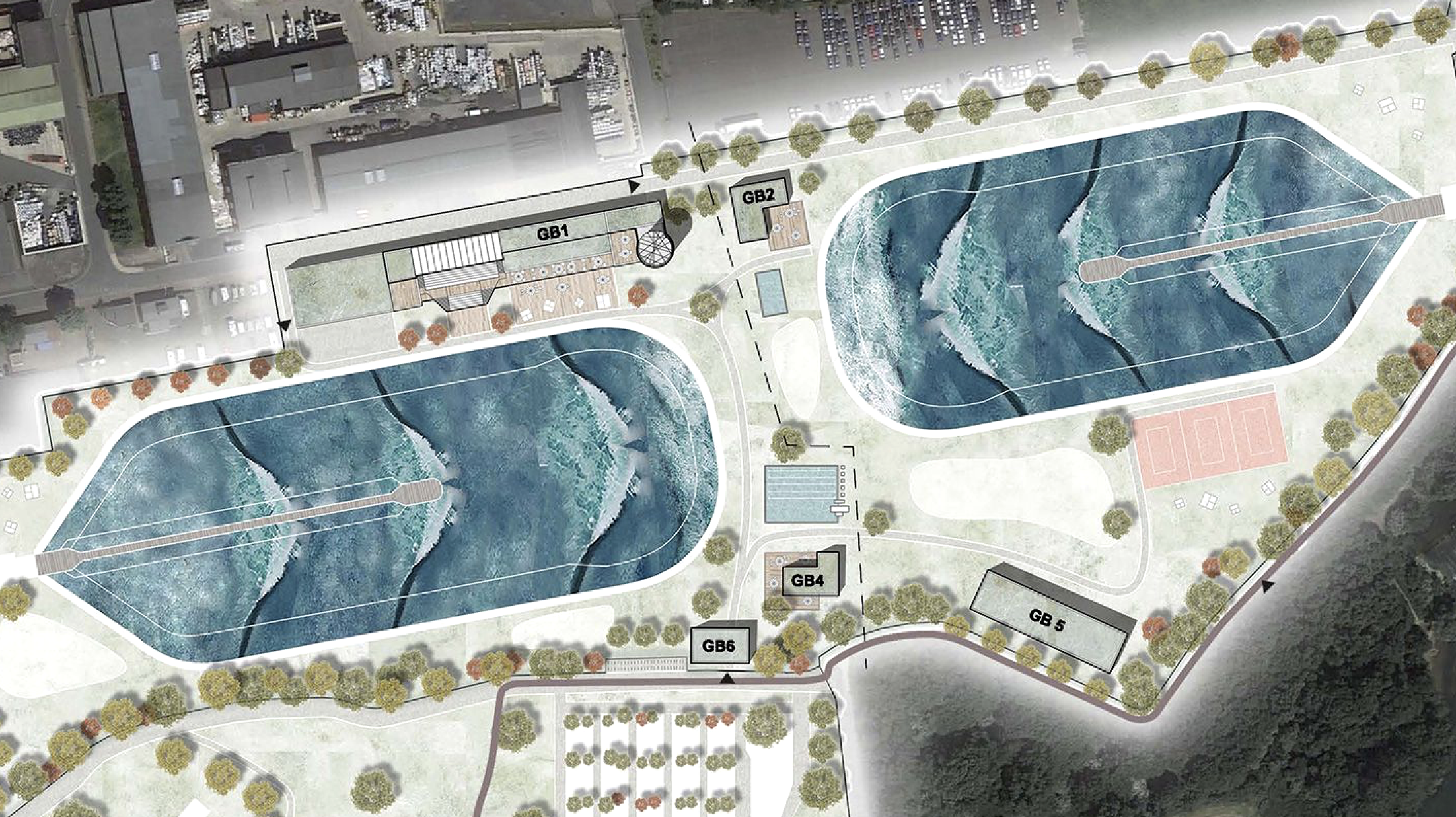 SurfWrld planned wave pool