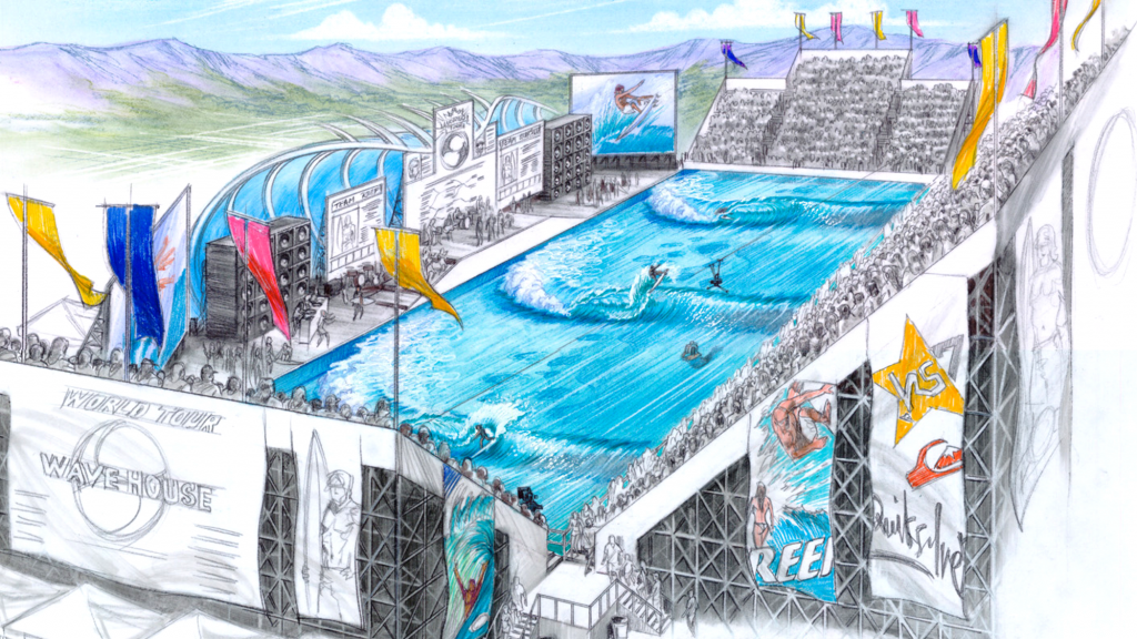 Early Tom Lochtefeld wave pool concept