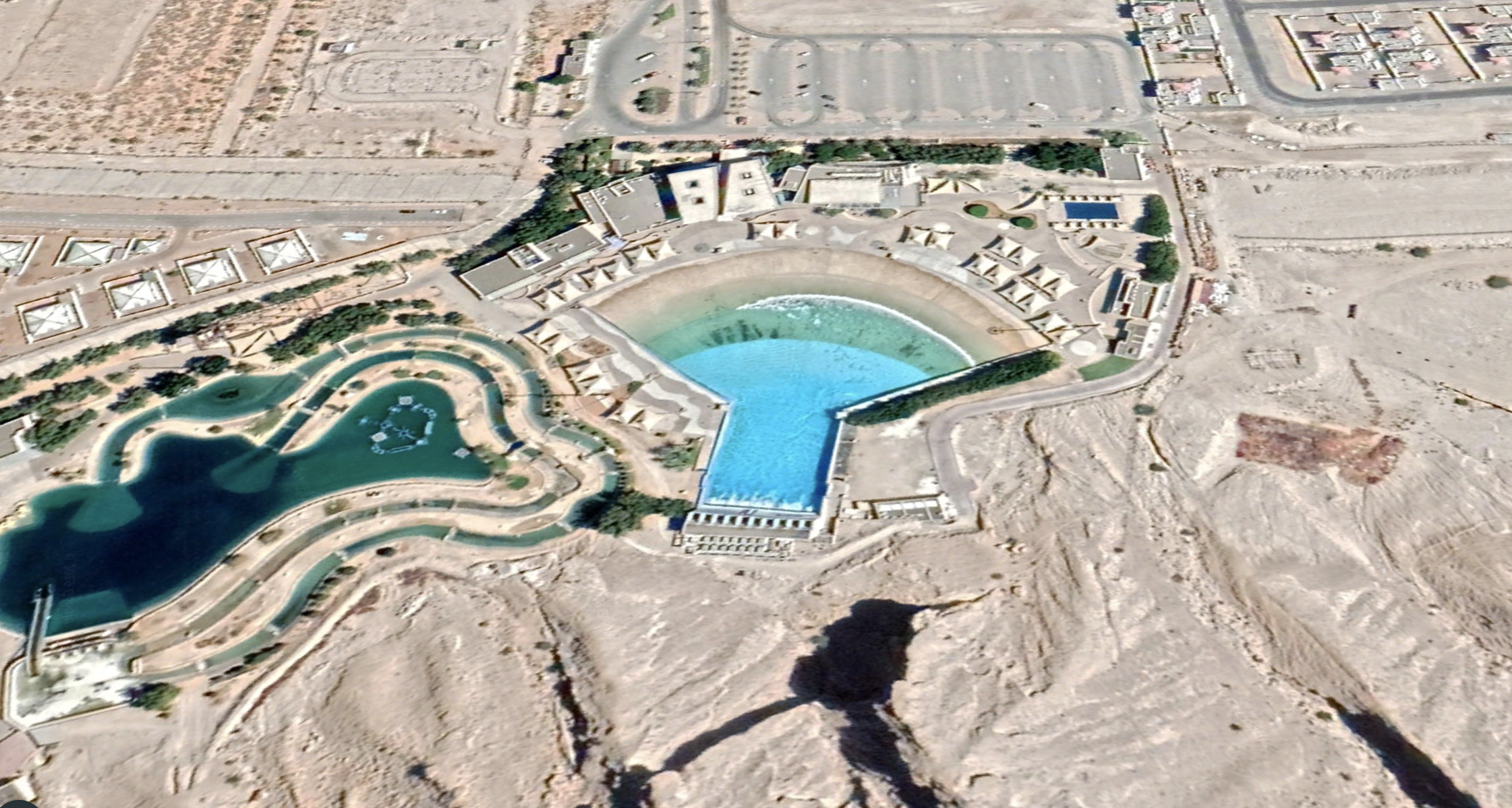 wave pools from space