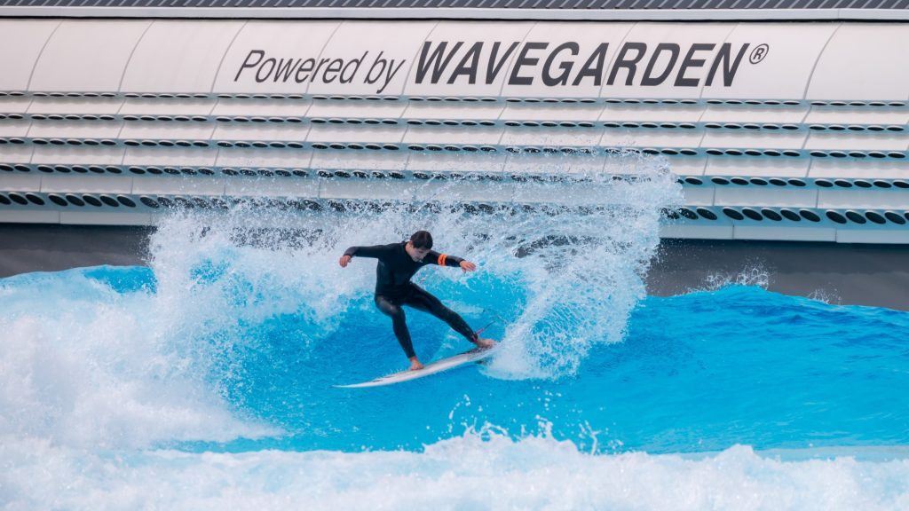Surfing in South Korea