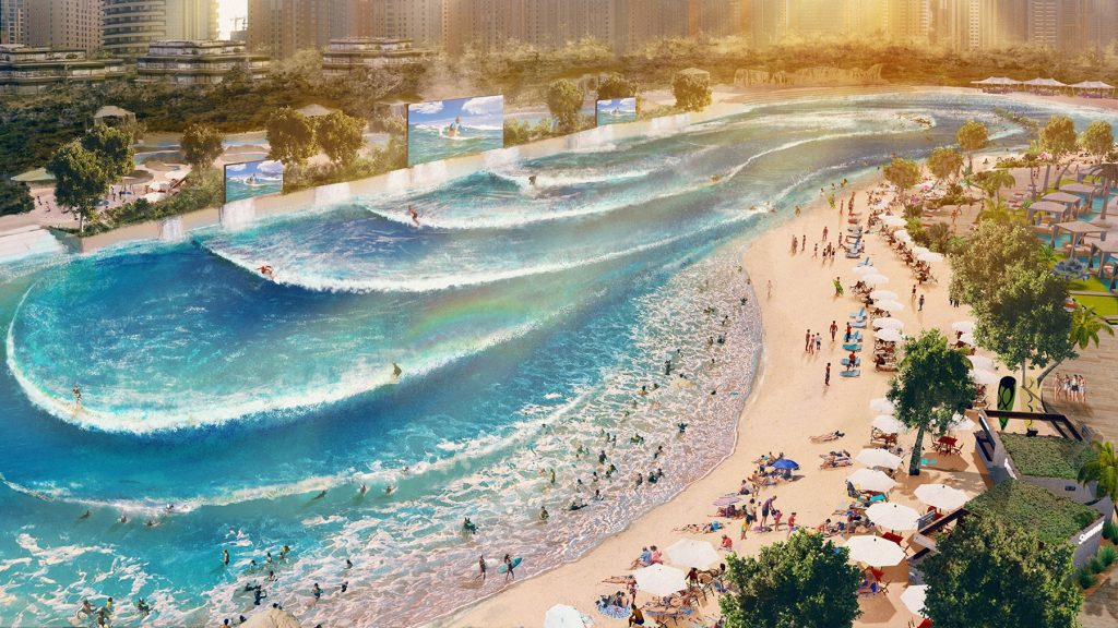 WhiteWater's Endless Surf pool design
