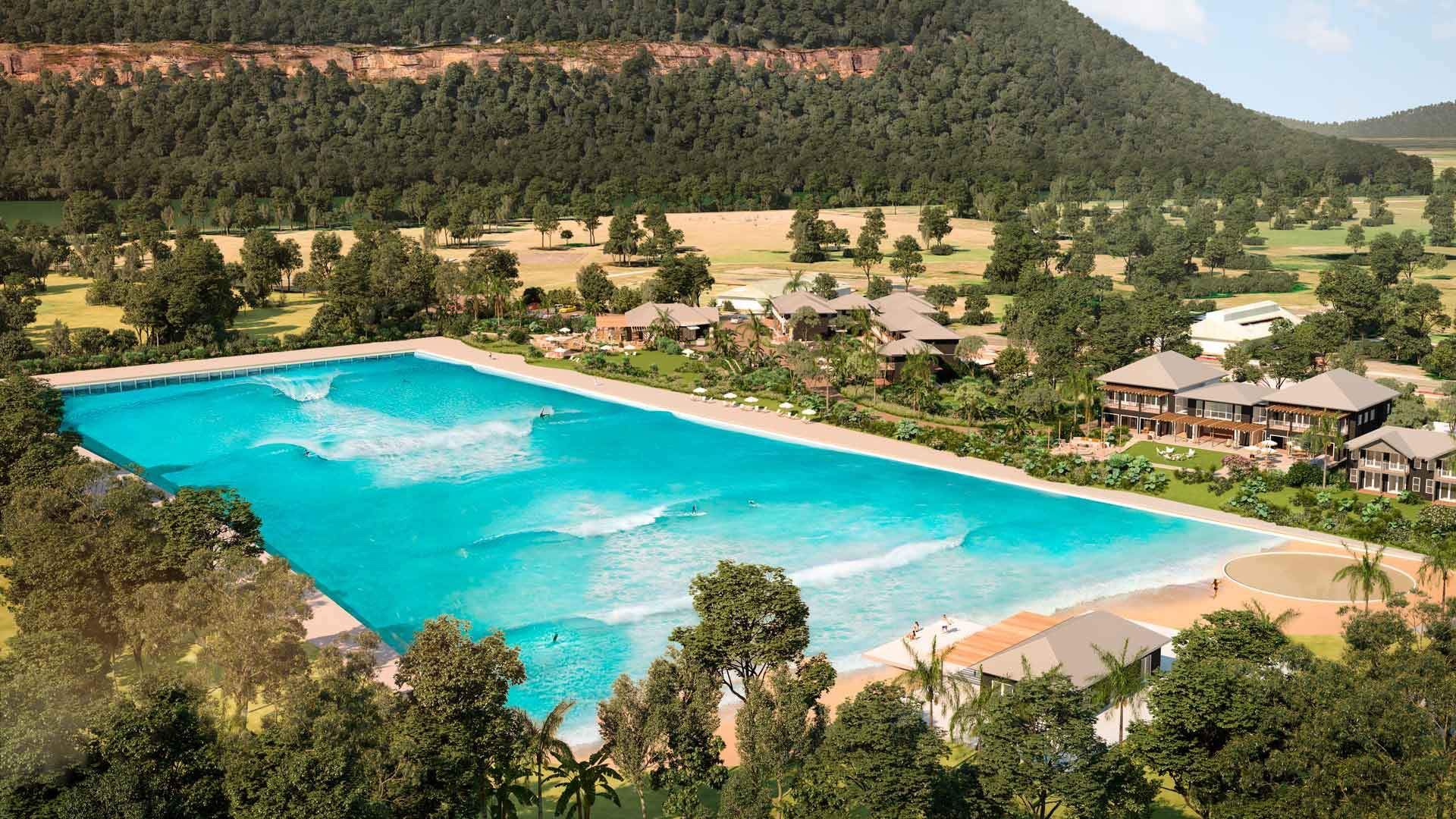 wave pool at wisemans ferry