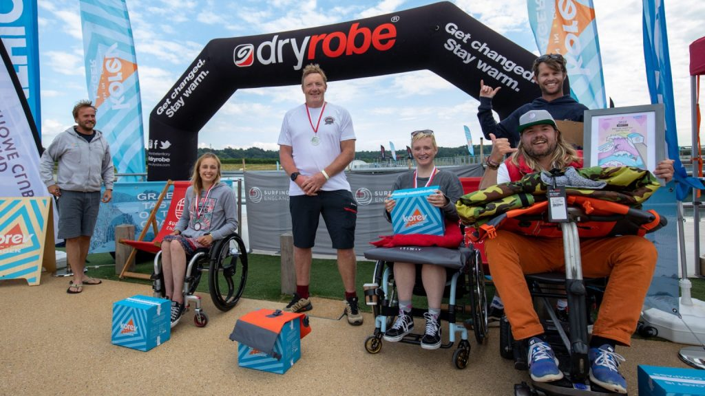 wave pools and adaptive surfing