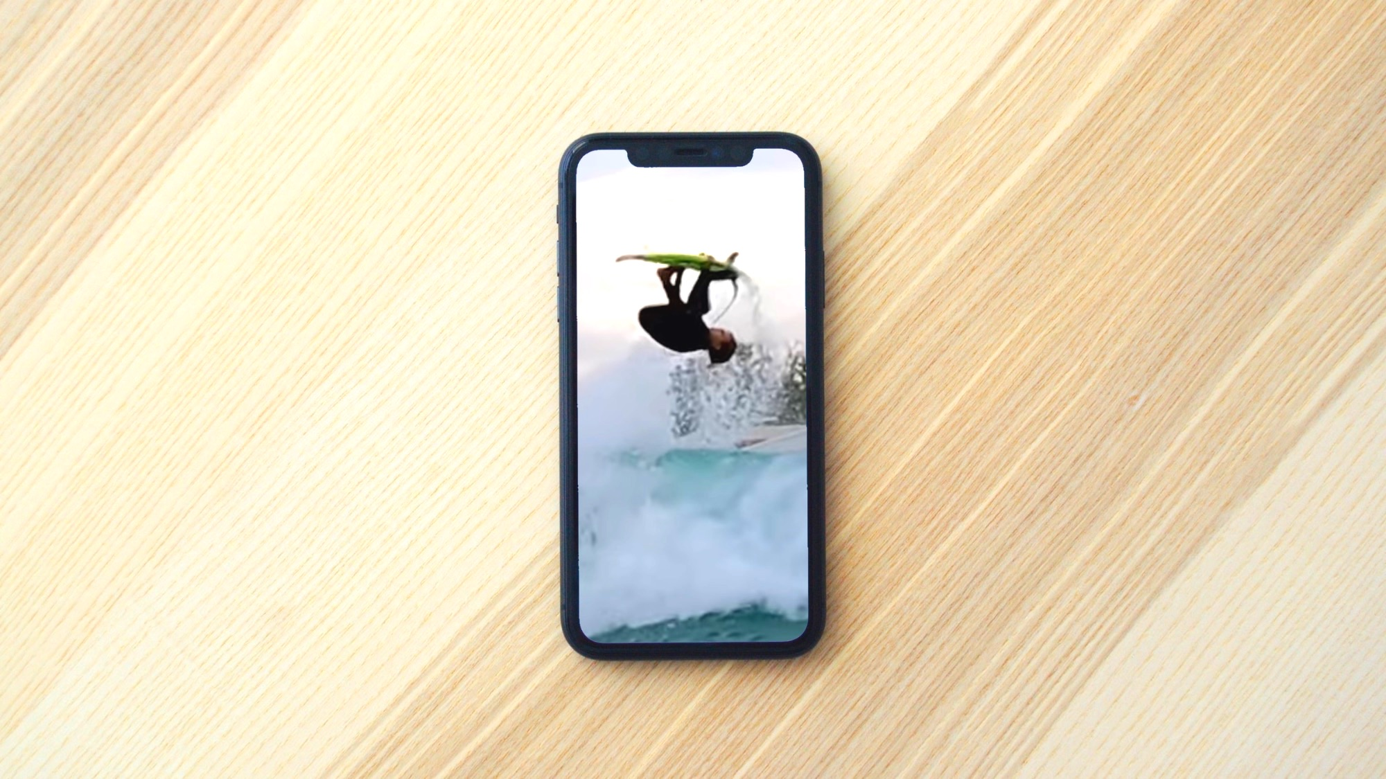 the first-ever backside front flip air in a wave pool