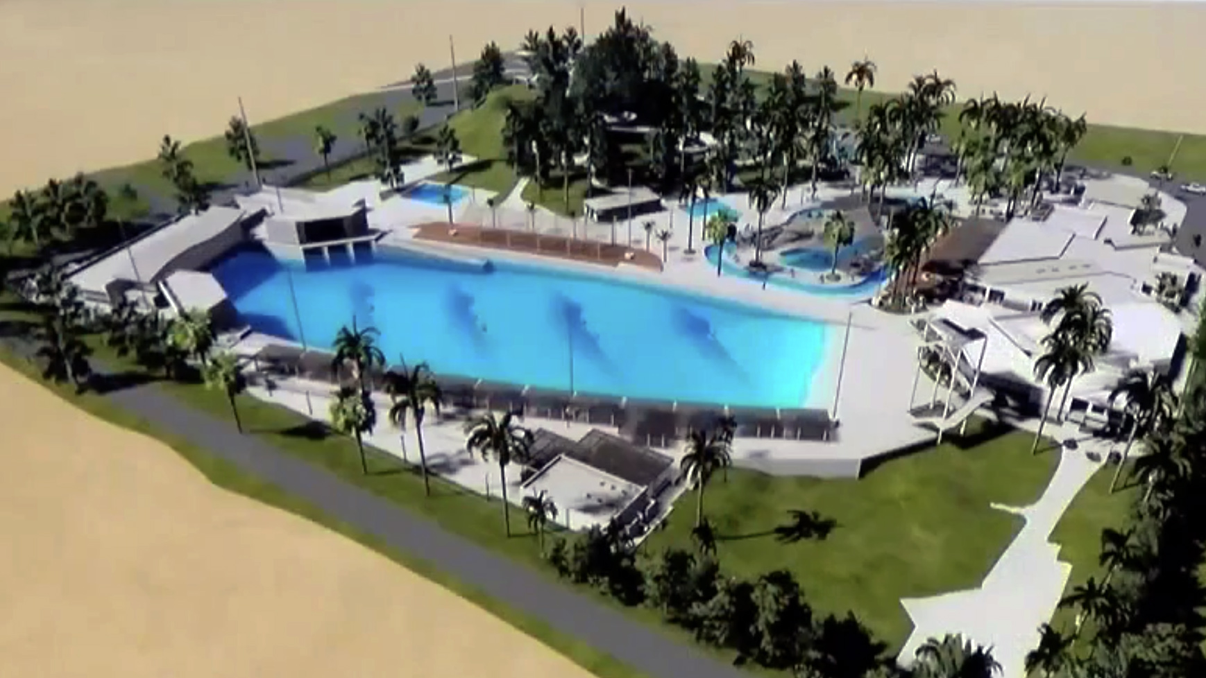 palm springs surf club plans