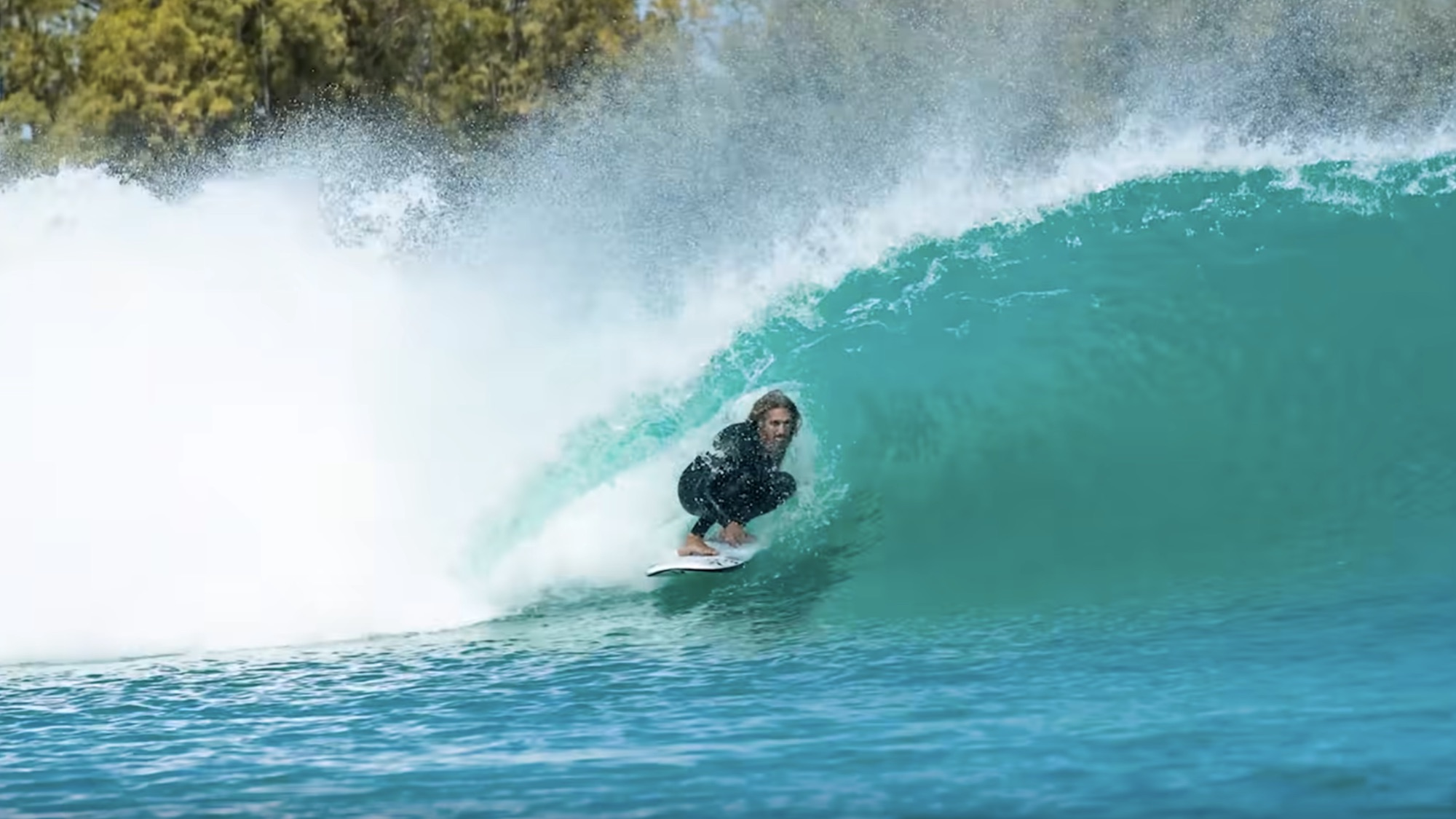 Rob Machado at the Surf Ranch