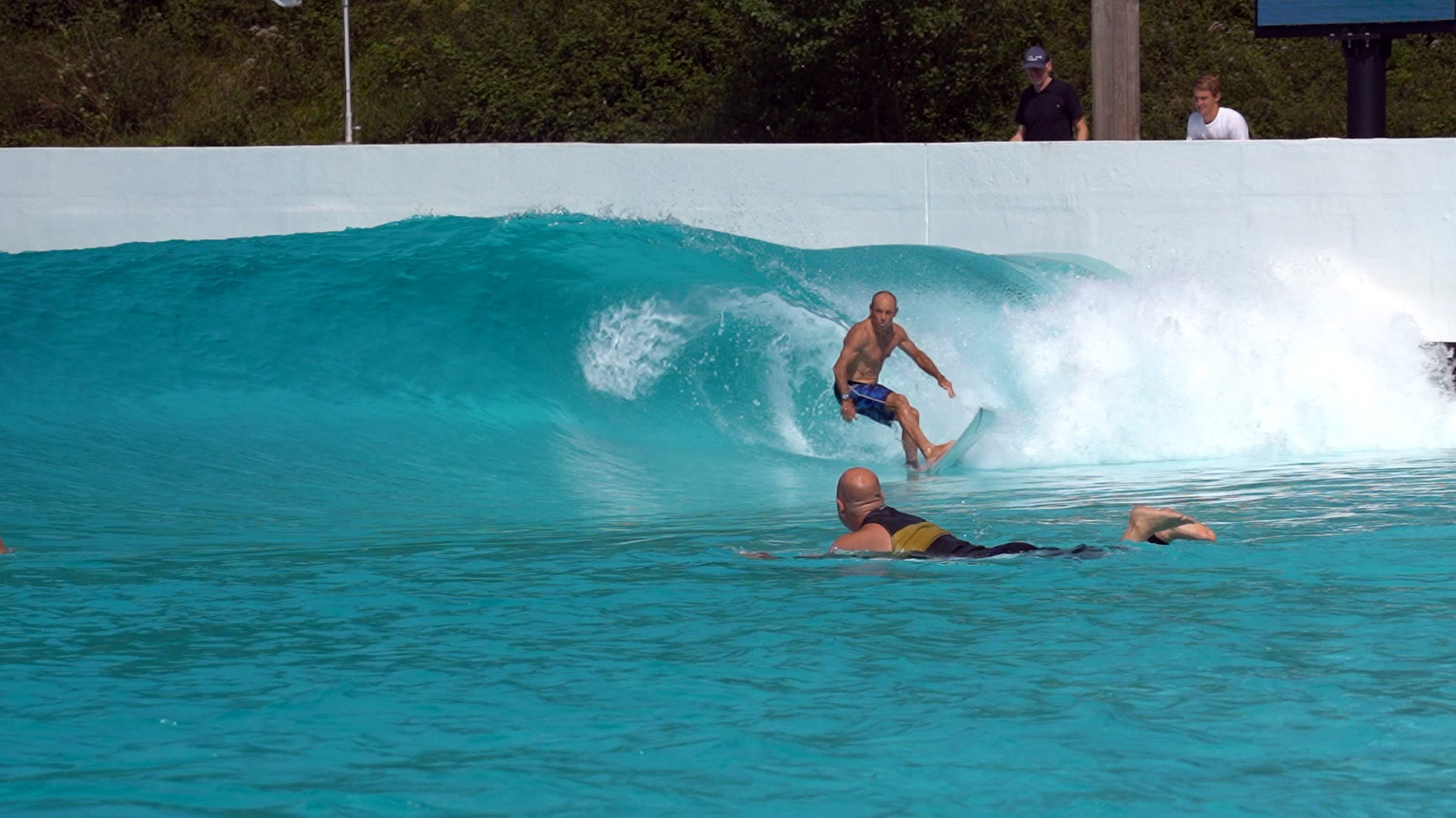Tom Carroll at Wavegarden