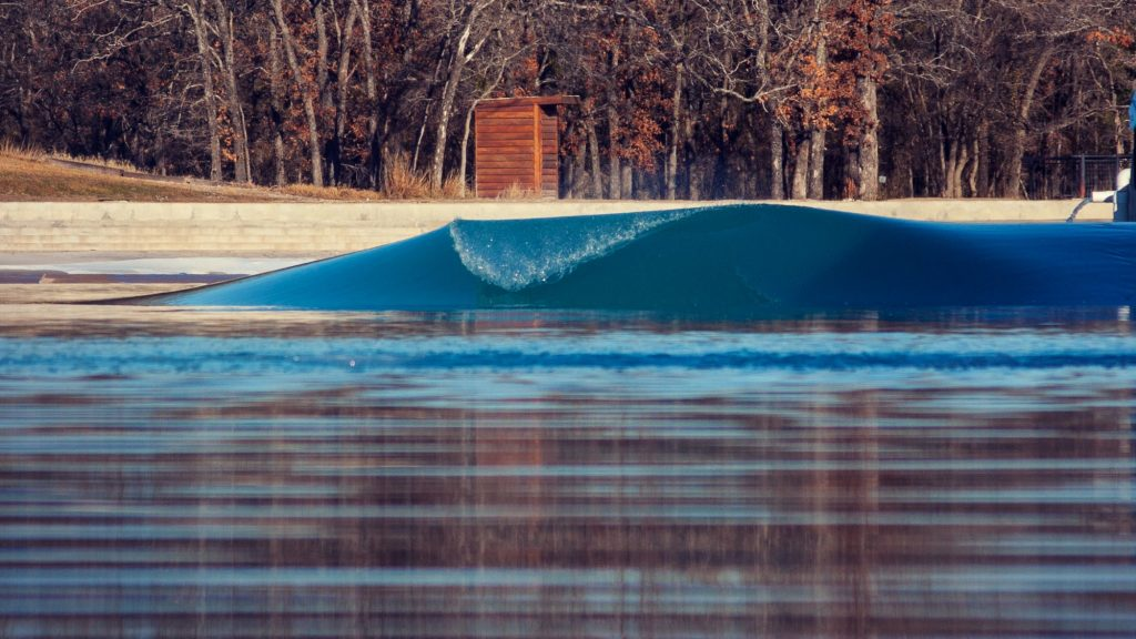empty wave pool surf