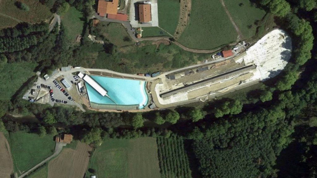Wavegarden HQ from space